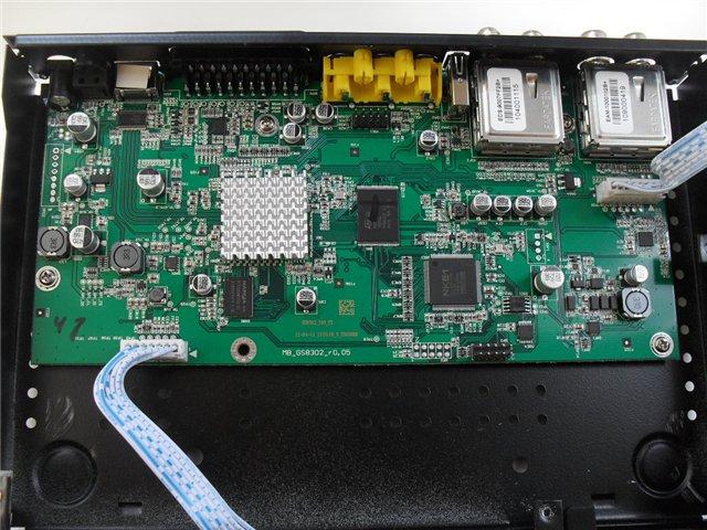 Схемотехника ресивера GS 8302,